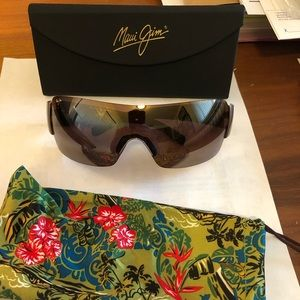 Maui Jim Polarized Sunglasses: Honolulu520-15.